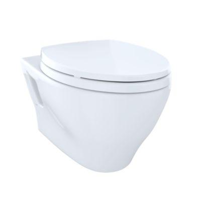 aquia wallhung dualflush toilet 16 gpf u0026 09 gpf elongated bowl totousacom - Wall Hung Toilet