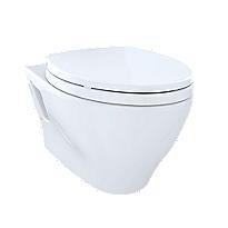 Aquia® Wall-Hung Dual-Flush Toilet, 1.6 GPF & 0.9 GPF, Elongated Bowl