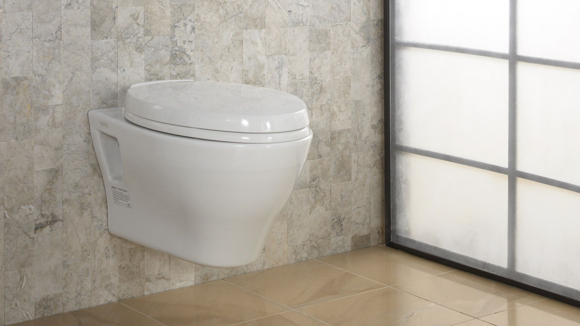 Aquia WallHung DualFlush Toilet  GPF   GPF Elongated - Elongated bowl toilet dimensions