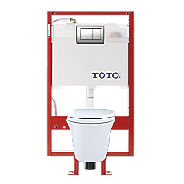 Maris® Wall-Hung Toilet & DUOFIT™ In-Wall Tank System, 1.6 GPF & 0.9 GPF, Elongated Bowl - PEX Supply
