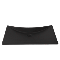 Waza® Noir™ Cast Iron Lavatory