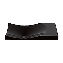 Waza® Noir™ Cast Iron Self-Rimming Lavatory