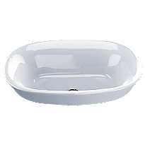Maris® Semi-Recessed Vessel Lavatory