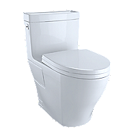 Aimes® One-Piece Toilet, 1.28GPF, Elongated Bowl