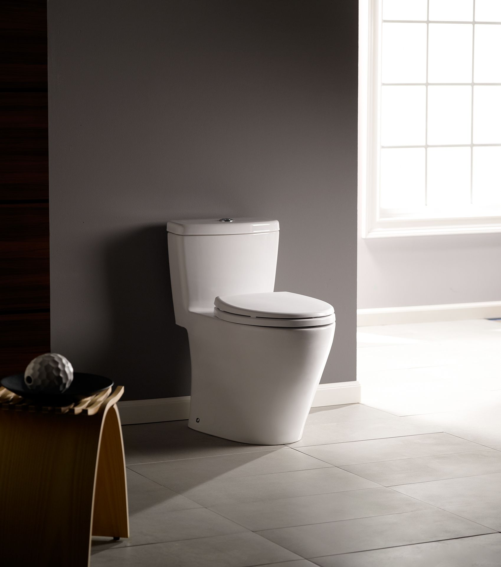 Aquia 174 One Piece Toilet 1 6 Gpf Amp 0 9 Gpf Elongated Bowl