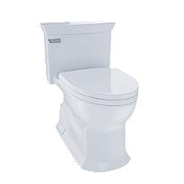 Eco Soirée® One Piece Toilet, 1.28 GPF, Elongated Bowl
