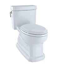 Eco Guinevere® One-Piece Toilet, 1.28 GPF, Elongated Bowl