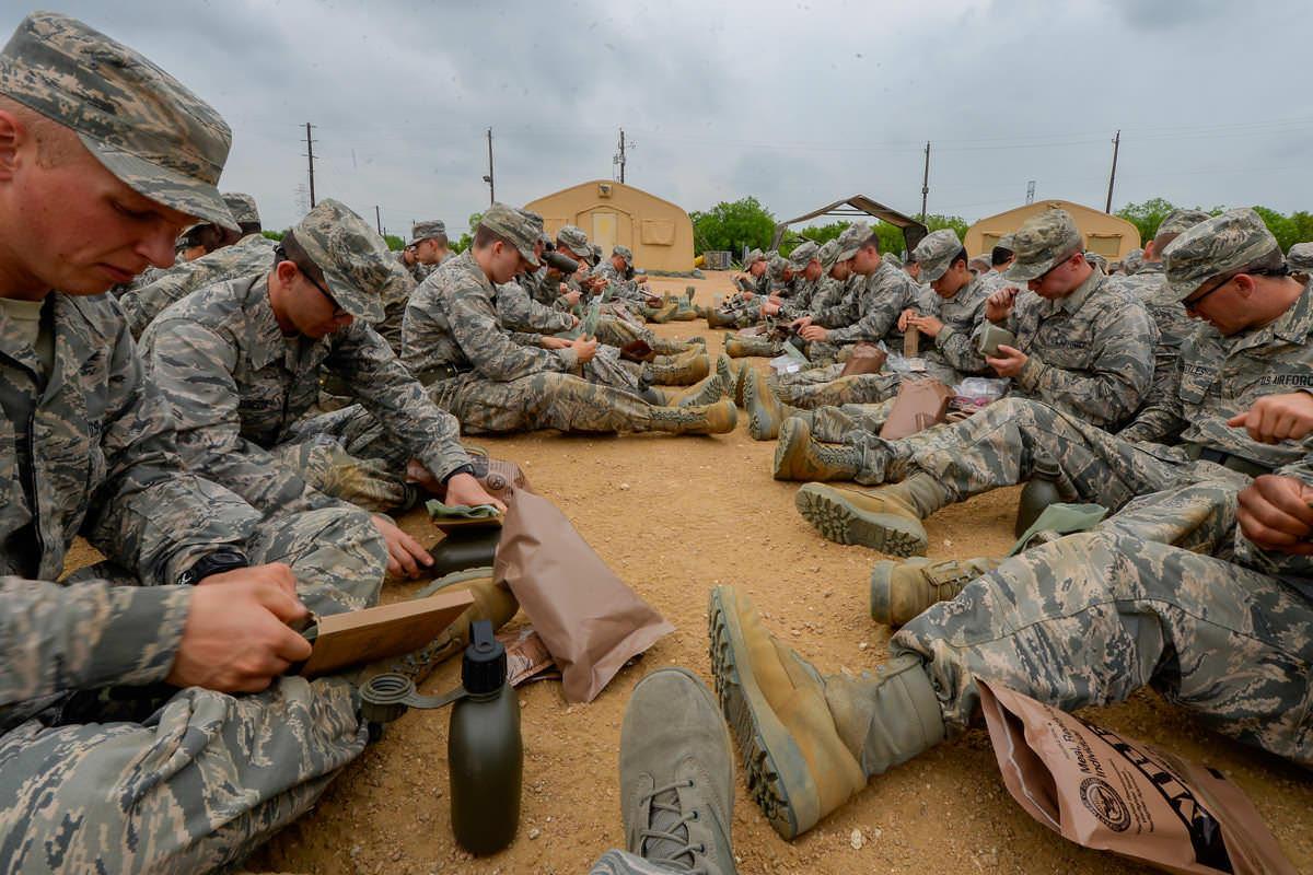 air force basic training beast week