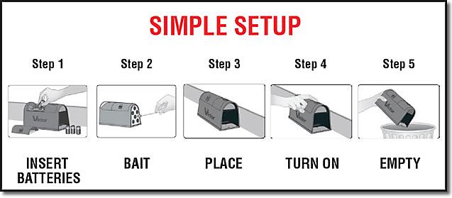 Victor 174 Electronic Rat Trap 3 Pack Bundle Read Reviews